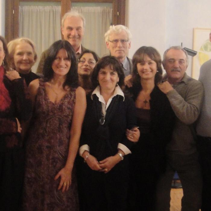 Il gruppo Perseo alla presentazione del libro di AD DEKKERS ad Artemedica